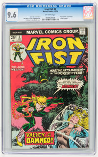 Iron Fist #2 (Marvel, 1975) CGC NM+ 9.6 Off-white pages