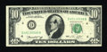 Error Notes:Ink Smears, Fr. 2022-D $10 1974 Federal Reserve Note. Fine-Very Fine.. ...