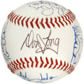 Autographs:Baseballs, 1993 Midland Angels Team Signed Baseball. Nineteen members of the1993 Midland Angels, a former affiliate of the big club i...