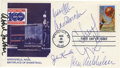 Basketball Collectibles:Others, 1995 Basketball Hall of Fame Induction Class Signed First DayCover. The basketball Hall of Fame in Springfield, Massachus...