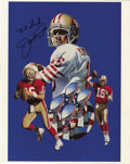 Football Collectibles:Photos, Joe Montana Signed Photograph. National Football League Hall ofFamer, Joe Montana attached his signature to this 8x10 phot...
