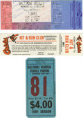 Baseball Collectibles:Tickets, 1991 Full Ticket from Final Game at Memorial Stadium. The hallowedOld Gray Lady of 33rd street served from 1954-1991 as th...