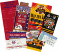 Baseball Collectibles:Tickets, 1994 and 1996 MLB All-Star Game Tickets. Included here is a groupof admission materials for All-Star Weekend from the 199...