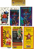 Basketball Collectibles:Others, NBA All-Star Game Ticket Stubs Lot of 3. Full ticket from the 2003NBA All-Star Game in joined here by stubs from the '91 a...