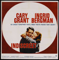 "Movie Posters:Romance, Indiscreet (Warner Brothers, 1958). Six Sheet (81"" X 81""). Romance.Starring Cary Grant, Ingrid Bergman , Cecil Parker and P..."