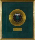 "Music Memorabilia:Recordings, Slim Whitman ""Secret Love"" Imperial Gold Record Award (1958). Doris Day took the song to #1 on the Pop charts in 1954, but S..."