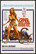 "Movie Posters:Adventure, One Million Years B.C. (20th Century Fox, 1966). One Sheet (27"" X41""). Adventure. Starring Raquel Welch, John Richardson, P..."