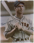Autographs:Photos, Travis Jackson Signed Photograph. The hustling captain andclutch-hitting shortstop on John McGraw's Giants teams of the 19...