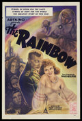 "Movie Posters:War, The Rainbow (Artkino Pictures, 1944). One Sheet (27"" X 41""). War.Starring Nina Alisova, Natalya Uzhviy, Vera Ivashova and Y..."