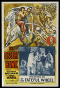 """Movie Posters:Serial, The Desert Hawk (Columbia, 1944). One Sheet (27"""" X 41""""). Serial. Chapter 10 -- """"The Fateful Wheel."""" Starring Gilbert Roland ..."""