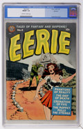 Golden Age (1938-1955):Horror, Eerie #4 Spokane pedigree (Avon, 1951) CGC FN/VF 7.0 Off-white towhite pages....