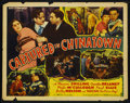 """Movie Posters:Mystery, Captured in Chinatown (Stage and Screen Productions, 1935). HalfSheet (22"""" X 28""""). ..."""