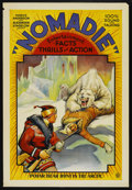 "Movie Posters:Documentary, Nomadie (Independent, 1931). One Sheet (27"" X 41""). Adventure Documentary...."