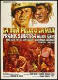 "Movie Posters:War, None But the Brave (Warner Brothers, 1965). Italian 2 - Folio (39""X 55""). ..."