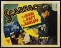 "Movie Posters:Crime, Scarface (Astor R-1947). Half Sheet (22"" X 28""). Crime...."