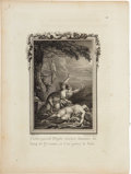 Antiques:Posters & Prints, Eleven Beautifully Engraved Plates From Ovid's Narrative PoemMetamorphoses. 7.5 x 10 inches. All plates in very...(Total: 11 Items)