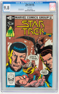Modern Age (1980-Present):Science Fiction, Star Trek #16 (Marvel, 1981) CGC NM/MT 9.8 White pages.