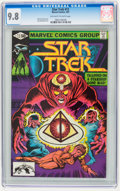 Modern Age (1980-Present):Science Fiction, Star Trek #12 (Marvel, 1981) CGC NM/MT 9.8 Off-white to whitepages.