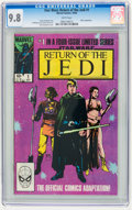 Modern Age (1980-Present):Science Fiction, Star Wars: Return of the Jedi #1 (Marvel, 1983) CGC NM/MT 9.8 Whitepages.