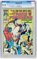Modern Age (1980-Present):Science Fiction, Transformers #2 (Marvel, 1984) CGC NM/MT 9.8 White pages.