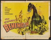 "The Giant Behemoth (Allied Artists, 1959). Half Sheet (22"" X 28""). Science Fiction"