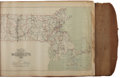Miscellaneous:Maps, [Massachusetts]. Galley Proof of The Atlas of Massachusetts,Completed under the Direction of O. W. Walker, C. E.; assis...