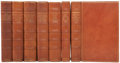 Books:Fiction, [Nonesuch Press]. William Shakespeare. The Works ofShakespeare. The Text of the First Folio with Quarto Variantsan... (Total: 7 Items)