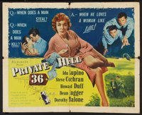 "Private Hell 36 (Filmakers Releasing Organization, 1954). Half Sheet (22"" X 28""). Crime"