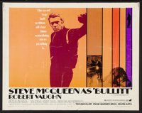 "Bullitt (Warner Brothers, 1968). Half Sheet (22"" X 28""). Action"