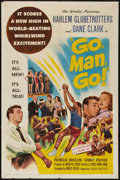 "Movie Posters:Sports, Go, Man, Go (United Artists, 1954). One Sheet (27"" X 41""). Sports.. ..."