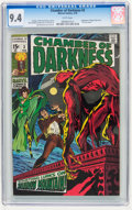 Bronze Age (1970-1979):Horror, Chamber of Darkness #3 (Marvel, 1970) CGC NM 9.4 White pages....