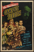 "Movie Posters:Crime, Campus Sleuth (Monogram, 1948). One Sheet (27"" X 41""). Crime.. ..."