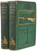 Books:Non-fiction, Winwood Reade. The African Sketch-Book. London: Smith,Elder, 1873. First edition. Two volumes. 483, 529 pages. Publ...(Total: 2 Items)