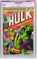 Bronze Age (1970-1979):Superhero, The Incredible Hulk #181 (Marvel, 1974) CGC Apparent VF/NM 9.0Slight (A) White pages.