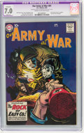 Silver Age (1956-1969):War, Our Army at War #81 (DC, 1959) CGC Apparent FN/VF 7.0 Slight (A) Cream to off-white pages.