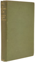 Books:First Editions, Adam Mez. The Renaissance of Islam. London: Luzac & Co.,1937. First edition. Octavo. iii, 539 pages. Index. Full gr...