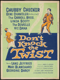 "Movie Posters:Rock and Roll, Don't Knock the Twist (Columbia, 1962). Poster (30"" X 40""). Rockand Roll.. ..."