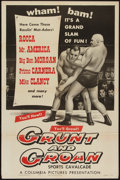 "Movie Posters:Sports, Grunt and Groan (Columbia, 1954). One Sheet (27"" X 41""). Sports.. ..."