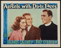 "Movie Posters:Crime, Angels with Dirty Faces (Warner Brothers, 1940). Lobby Card (11"" X14""). Crime.. ..."