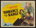 """Movie Posters:Western, Romance on the Range (Republic, 1942). Lobby Card Set of 8 (11"""" X14""""). Western.. ... (Total: 8 Items)"""