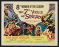 "Movie Posters:Fantasy, The 7th Voyage of Sinbad (Columbia, 1958). Title Lobby Card and Lobby Card (11"" X 14""). Fantasy.. ... (Total: 2 Items)"