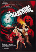 "Movie Posters:Science Fiction, The Time Machine (MGM, R-1970s). German A1 (23"" X 33""). ScienceFiction.. ..."
