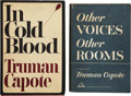Books:First Editions, Truman Capote. Two Books, including: Other Voices, OtherRooms. New York: Random House, [1948]. First edition. [and:...(Total: 2 Items)