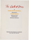 Books:First Editions, Edith Sitwell. The Death of Venus. New York: VincentFitzGerald & Co., 1983.. First. Octavo. 59 pages. Limited...