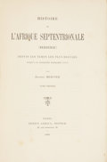 Books:First Editions, Ernest Mercier. Histoire de l'Afrique Septentrionale(Berberie). Paris: Ernest Leroux, 1883, 1888, 1891.First e... (Total: 3 Items)