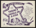 """Movie Posters:Western, Western Musical Lot (Various, 1937-1947). Title Lobby Card and Lobby Cards (3) (11"""" X 14""""). Western.. ... (Total: 4 Items)"""