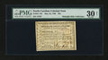 Colonial Notes:North Carolina, North Carolina May 10, 1780 $25 PMG Very Fine 30 Net....