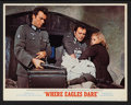 """Movie Posters:War, Where Eagles Dare Lot (MGM, 1968). Lobby Cards (3) (11"""" X 14"""") andProgram (Multiple Pages, 8.5"""" X 11.5""""). War.. ... (Total: 4 Items)"""