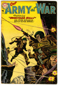 Golden Age (1938-1955):War, Our Army at War #31 (DC, 1955) Condition: VG....