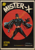 "Movie Posters:Action, Mister X (Sanchez Ramade, 1967). Spanish One Sheet (27"" X 39""). Action.. ..."
